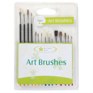 Prime Art Brush Set 15 Pcs (5BS)
