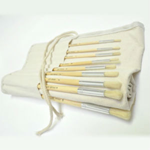 Prime Art Brush Set in Roll 18 Pcs (18BS)