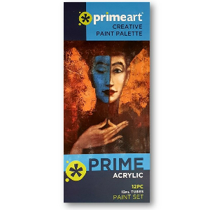 Prime Art Acrylic Paint Sets 12 Ml 1218 Assorted (archive)