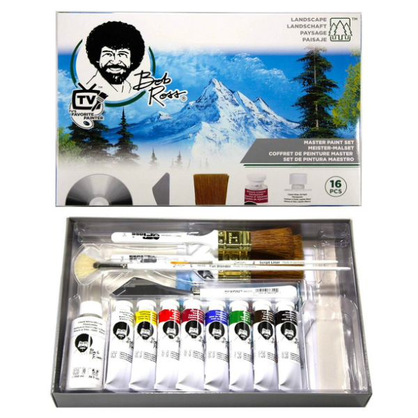 Bob Ross Master Painting Set 16 Piece Web1